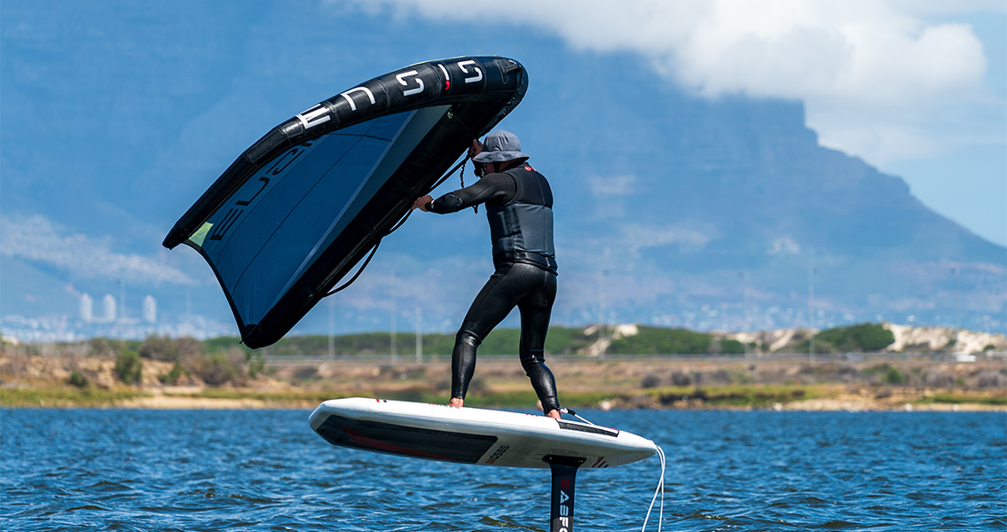 Successful day of testing ENSIS wings in Cape Town